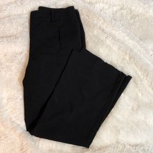Loft Curvy Black Dress Pants Size 8